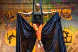 The Fort Collins Circus Center offers classes involving acrobatics and flow arts.