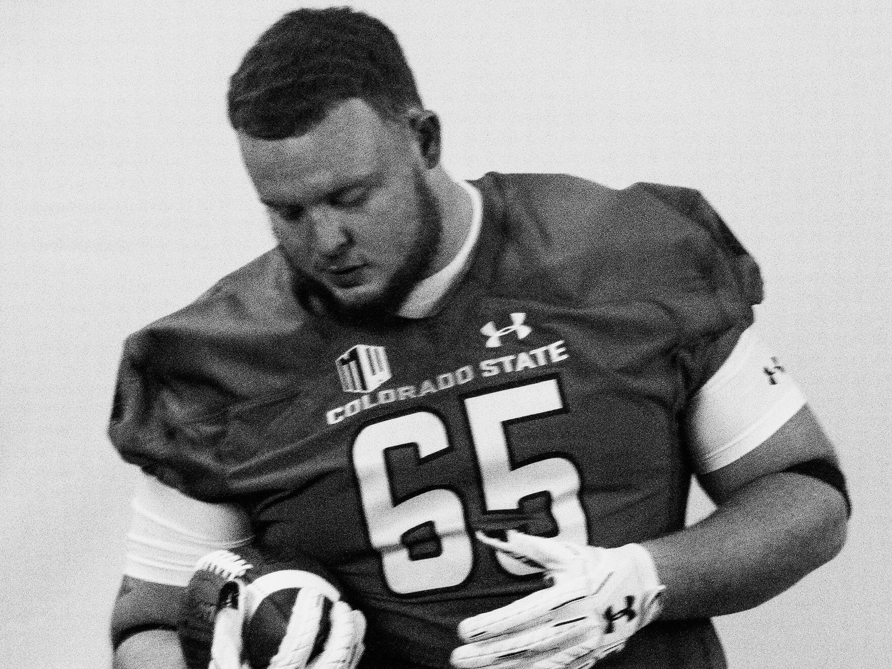 Fort Scott offensive lineman Desmond Noel committed to join the CSU football team in December.
