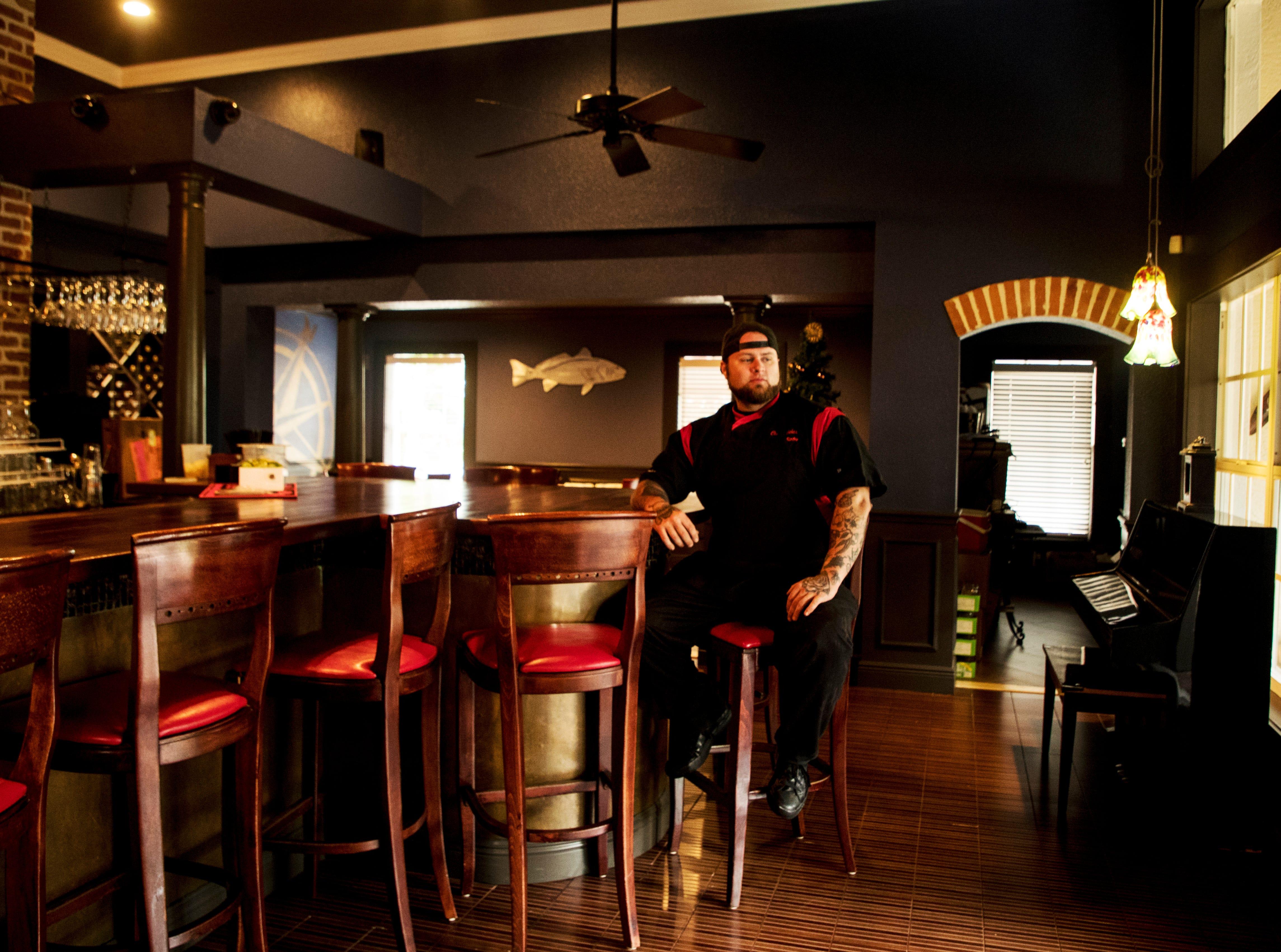 Chef Nicholas James of Redfish Point.