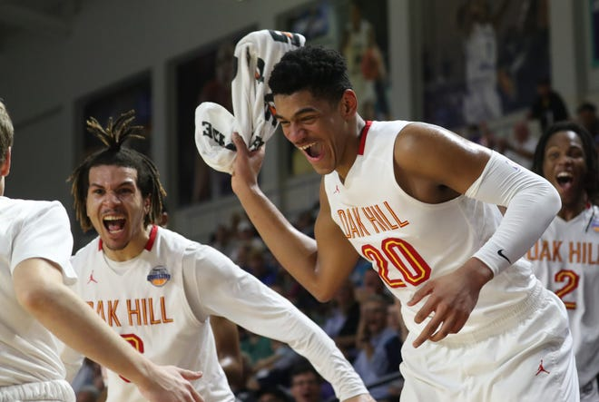 Oak Hill Academy takes on Olive Branch in game 13 of the City of Palms Classic on Wednesday, December 19, 2018, at Florida Southwestern State College in Fort Myers.