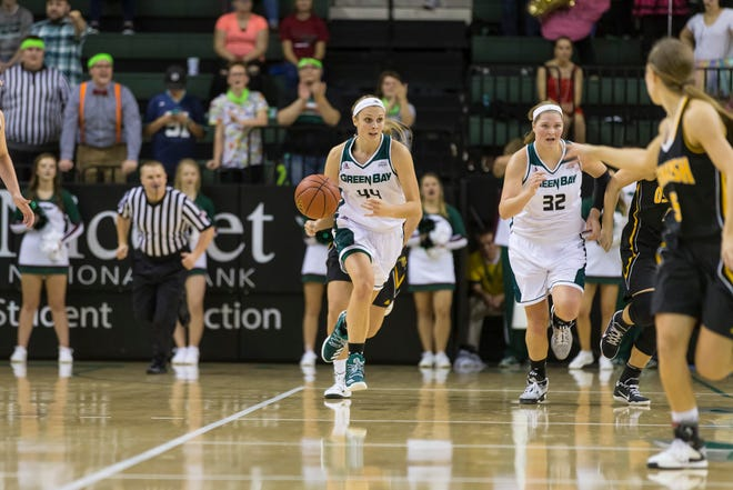 Anna Dier, pictured during her freshman season, returned this week from a torn anterior cruciate ligament in her left knee.