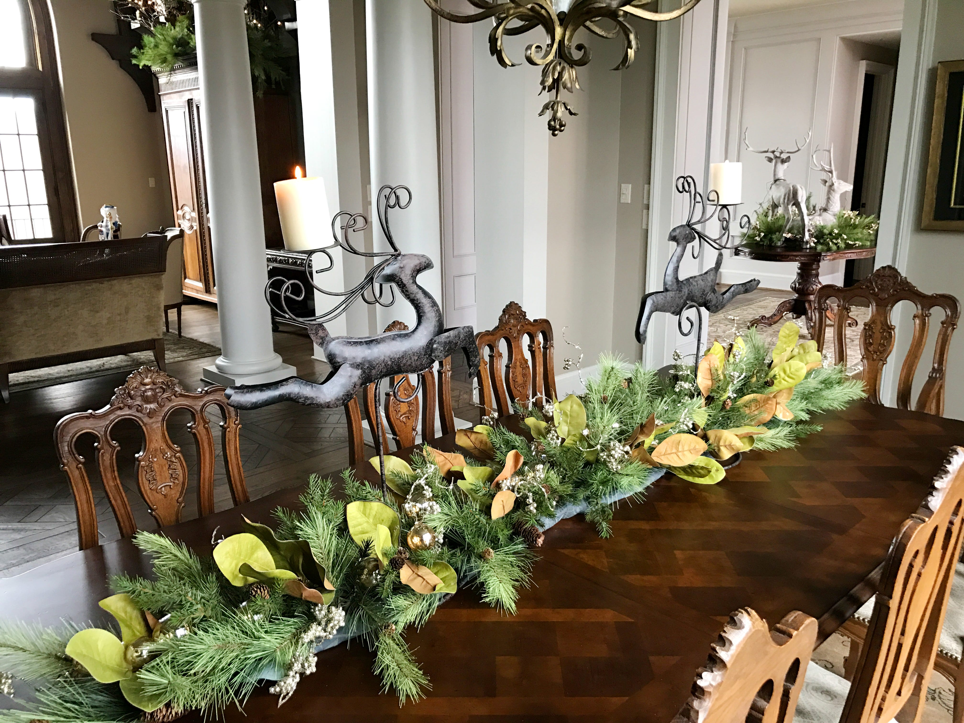 With the holidays in full swing and a house still full of turkeys and old pumpkins, it would be easy to find ourselves in a full- blown panic. Fortunately we do know how to get by with a little help from our friends, and this time we turned to Jim Wadsworth of Wadsworth & Company for inspiration.