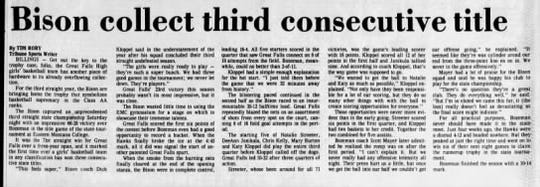 A monumental third consecutive undefeated season came in 1982.