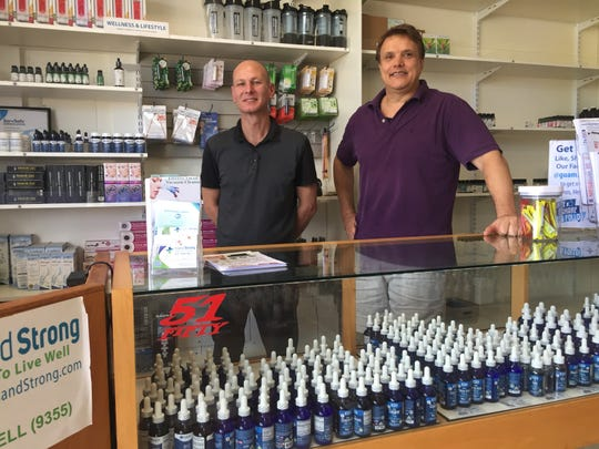 Island Strong in Tamuning sells CBD oils and creams and offers free health coaching to all customers.