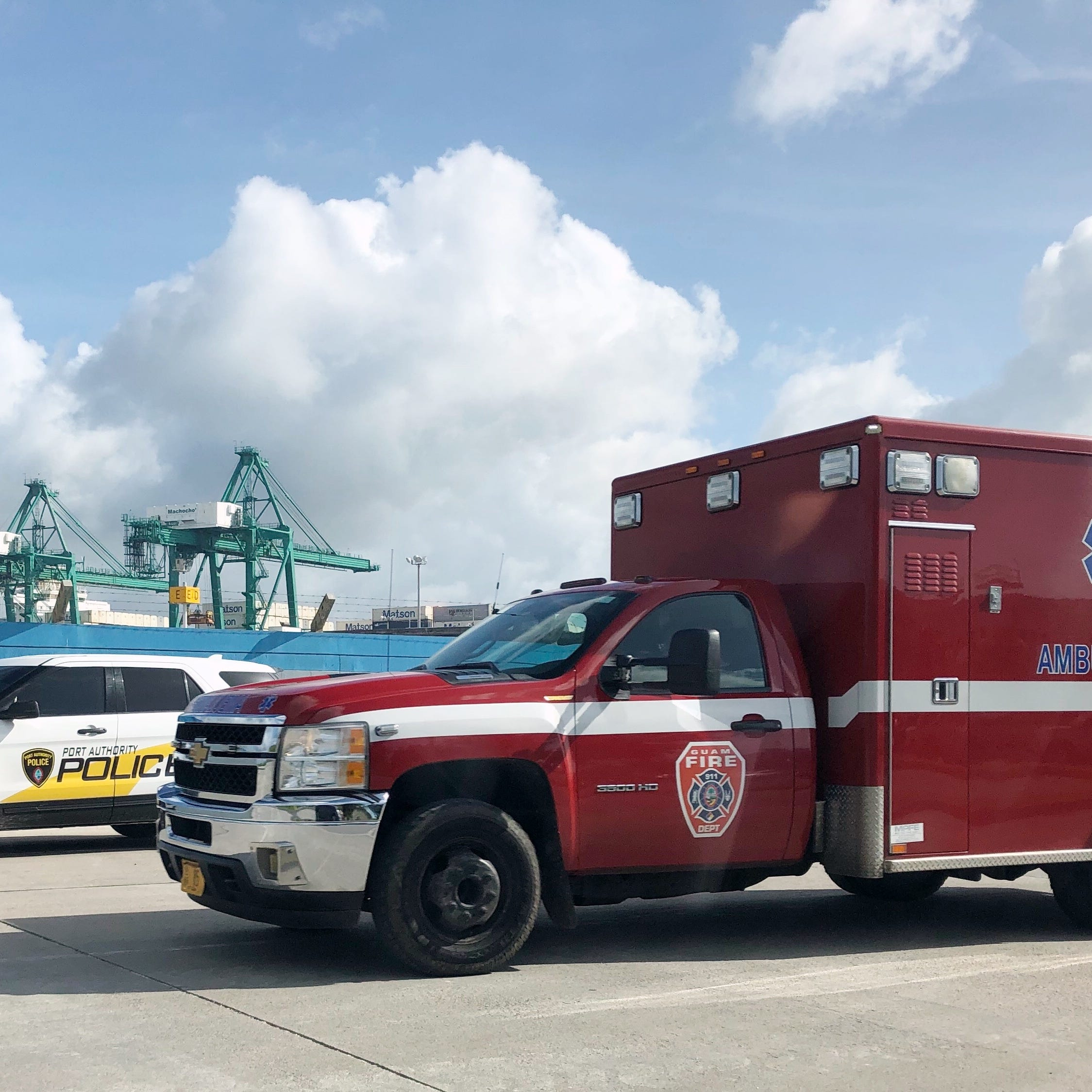 Gantry crane operator injured