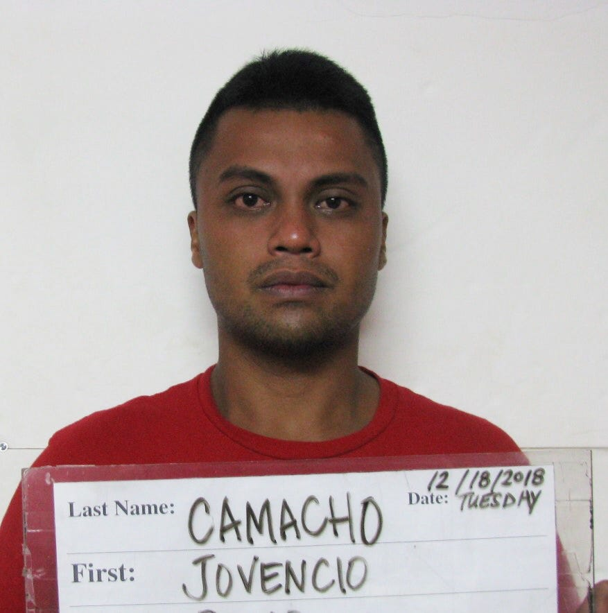 Jovencio Camacho calls police to his house, charged with drug possession
