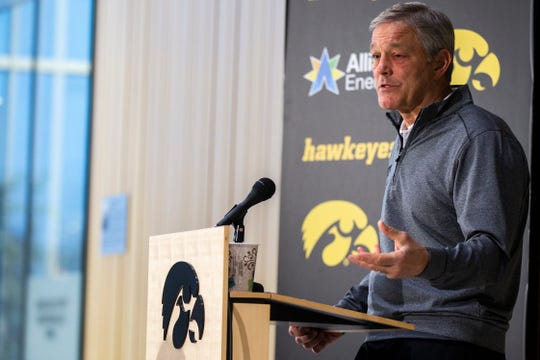 If Kirk Ferentz is still Iowa's coach in 2023 (he is under contract through the 2025 season), he would be 68 years old.