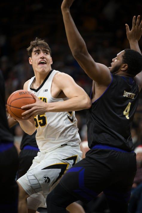 Western Carolina At Iowa Mens Basketball