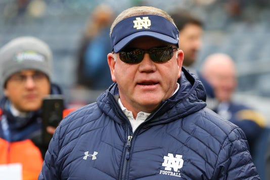 Ncaa Football Syracuse At Notre Dame