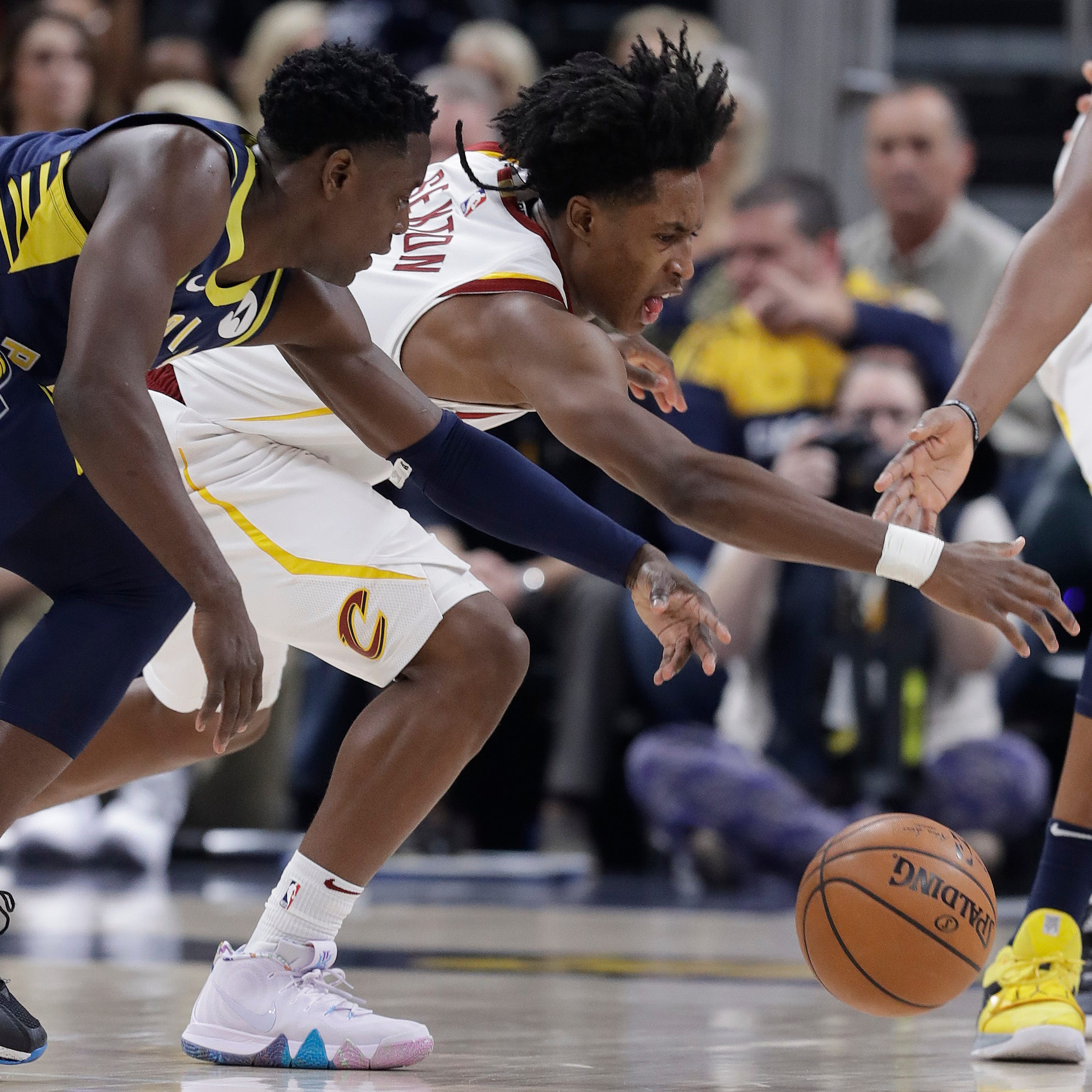 'Basketball gods' strike down Pacers against Cavs