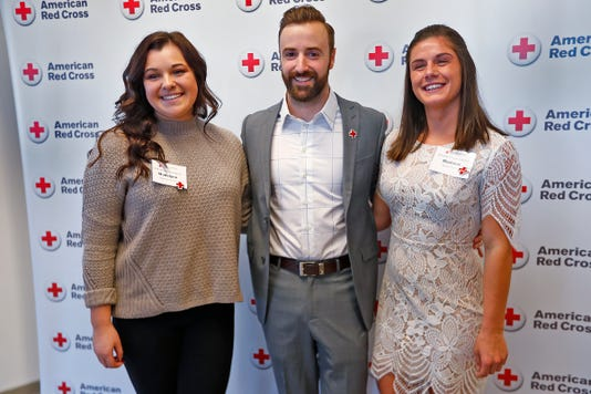 Indycar Driver James Hinchcliffe Is Added To The Red Cross Hall Of Fame