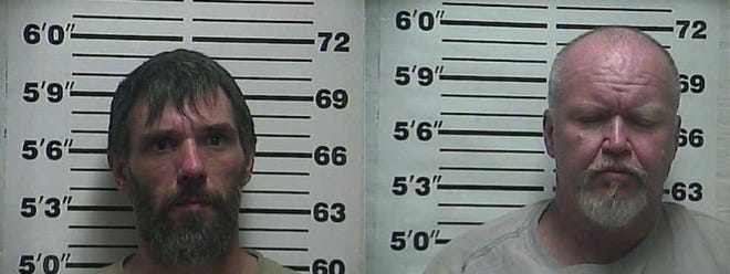 Jeffrey Story (left) and Ricky Gilbert (right) are both charged with criminal attempt to commit homicide and being a convicted felon in possession of a firearm in connection to a Weakley County shooting that occurred in October.