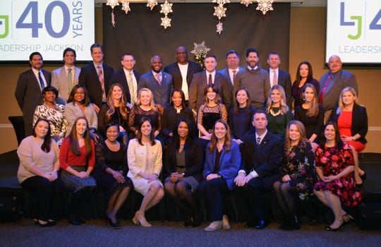 Jackson Chamber's 40th Leadership Jackson (LJ) class on Thursday, December 13 at the Carl Grant Events Center at Union University.