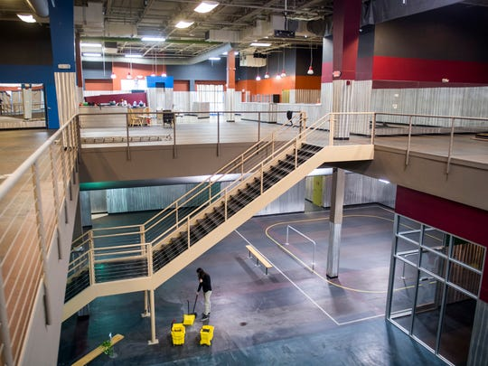 Inside Next Level Knoxville located at Knoxville Center Mall.