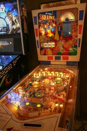 Gottleib's Sky-Line is one of the rare pinball games featured at the Gatlinburg Pinball Museum. The museum opened last weekend and features unlimited play on over 50 pinball machines and arcade games.