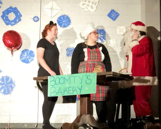 """Halls High Masquerade Players perform """"The Thirteenth Cookie"""" by Mary Barile."""