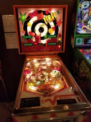 Ready Aim Fire, a rare pinball machine, is one of over 50 games at the Gatlinburg Pinball Museum. All games at the museum are set to unlimited play after visitors pay admission.