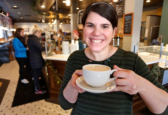 Dana McKinnis, chief of operations for Purdue Christian Campus House, Wednesday, December 19, 2018, at Greyhouse Coffee & Supply Co., 100 Northwestern Avenue in West Lafayette.
