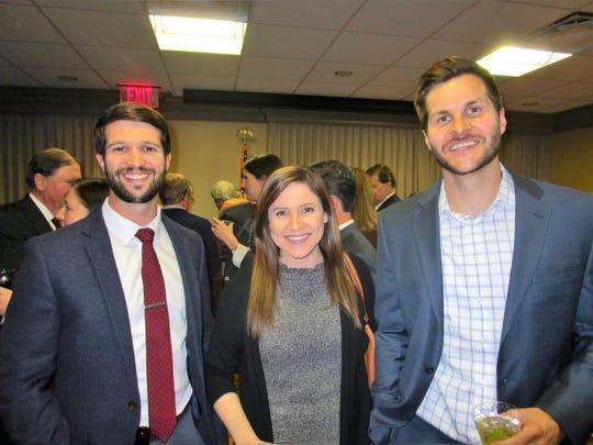 Matt Long, Jami Ishee and Adam Credeur