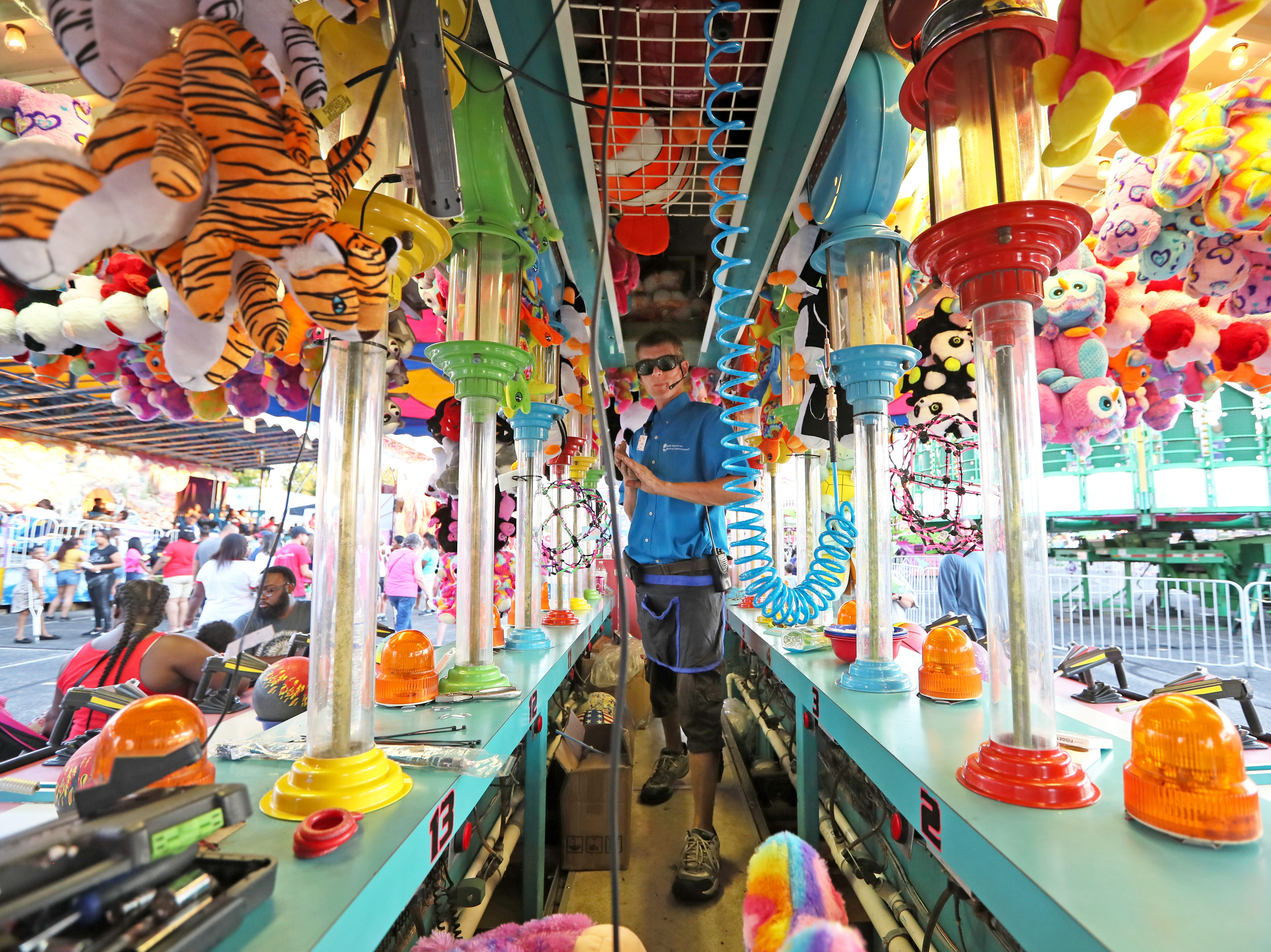 Opening day of the Mid-South Fair at the Landers Center in DeSoto County, Mississippi on Thursday, Sept. 20, 2018.
