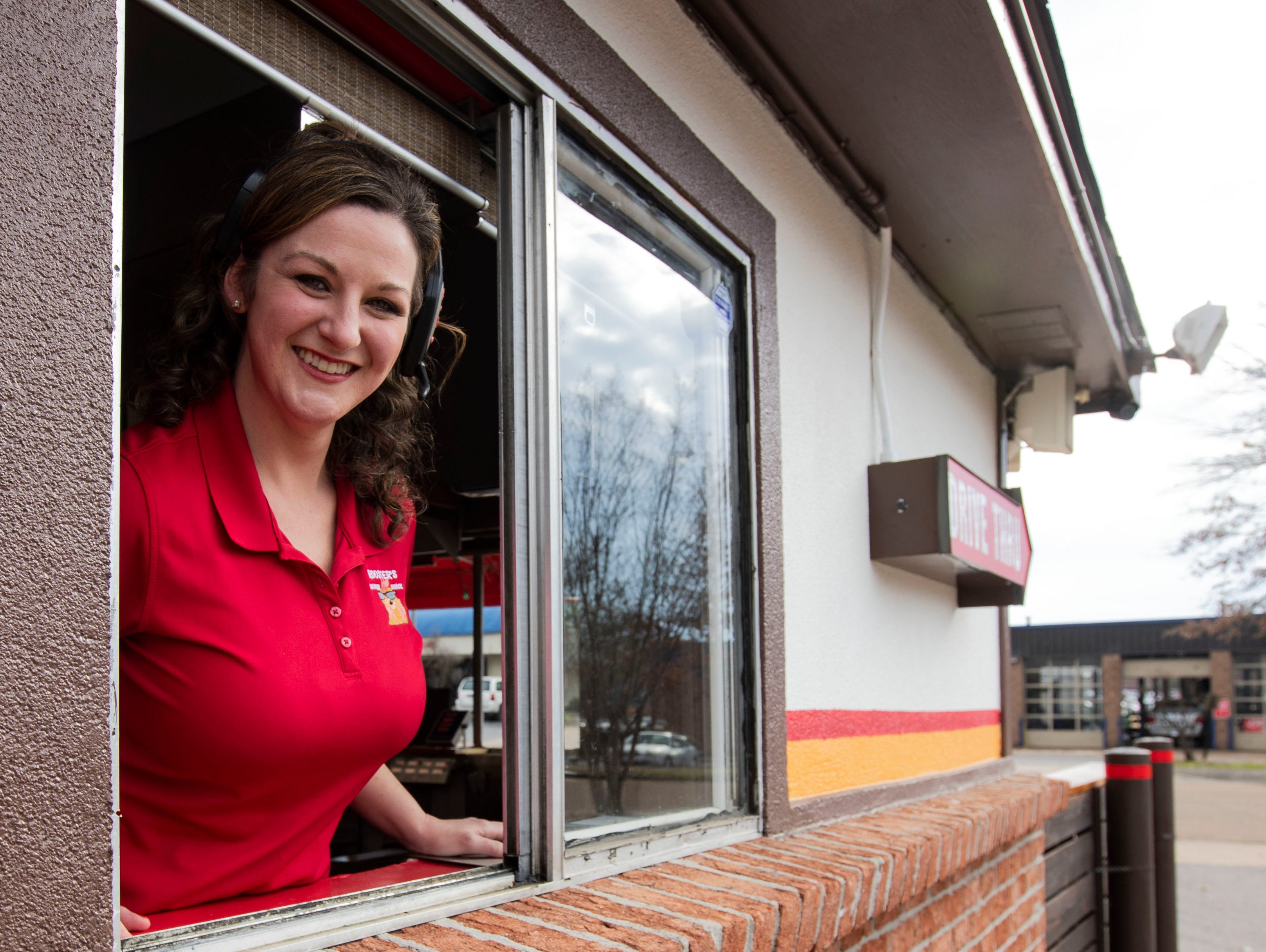 Amy Arrington is the owner of Rooster's Chicken Shack, a fast food chicken restaurant located in Bartlett, Tenn.
