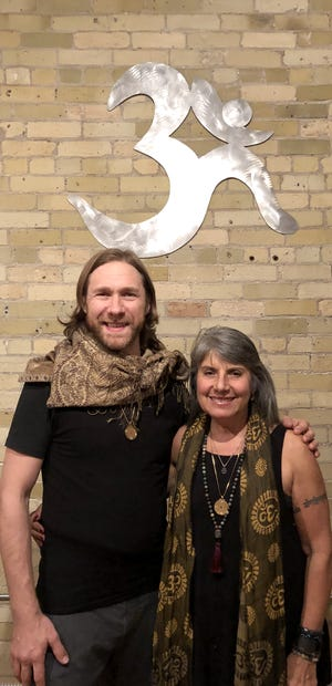 Ryan Hader and Marietta Pucillo are co-owners of Yama Yoga True North, which will open in Mequon's Spur 16 development in January.
