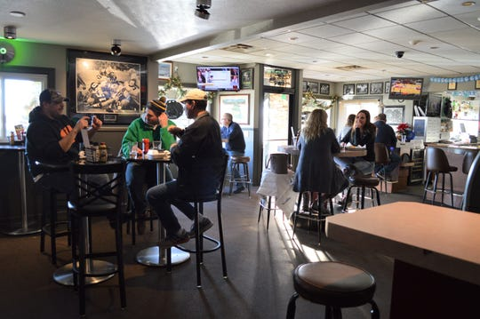 Matty's has three indoor dining areas, and two outside dining spaces for the spring and summer.
