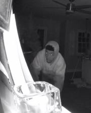 This man went inside a home at 5 a.m. Dec. 15 on West Bluemound Road. While looking at Christmas gifts, the homeowner's dog scared him off.