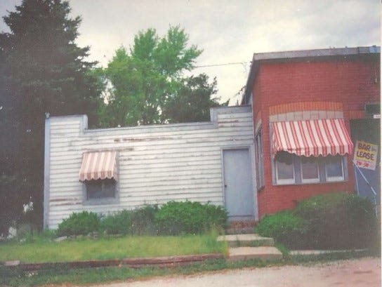 This is what the property looked like when Matt Anderson purchased it in 1997.