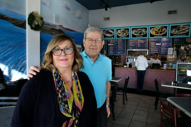 Tina and Fotis Kambouris, the owners of Mykonos Gyro & Cafe at 1014 N. Van Buren St., are closing the cafe Dec. 30 to retire. Mykonos opened in 1995, staying open until 3:30 a.m. until recently for weekend revelers. The restaurant was a second career for Tina Kambouris, who bought the cafe from her brother after leaving US Bank after 27 years.