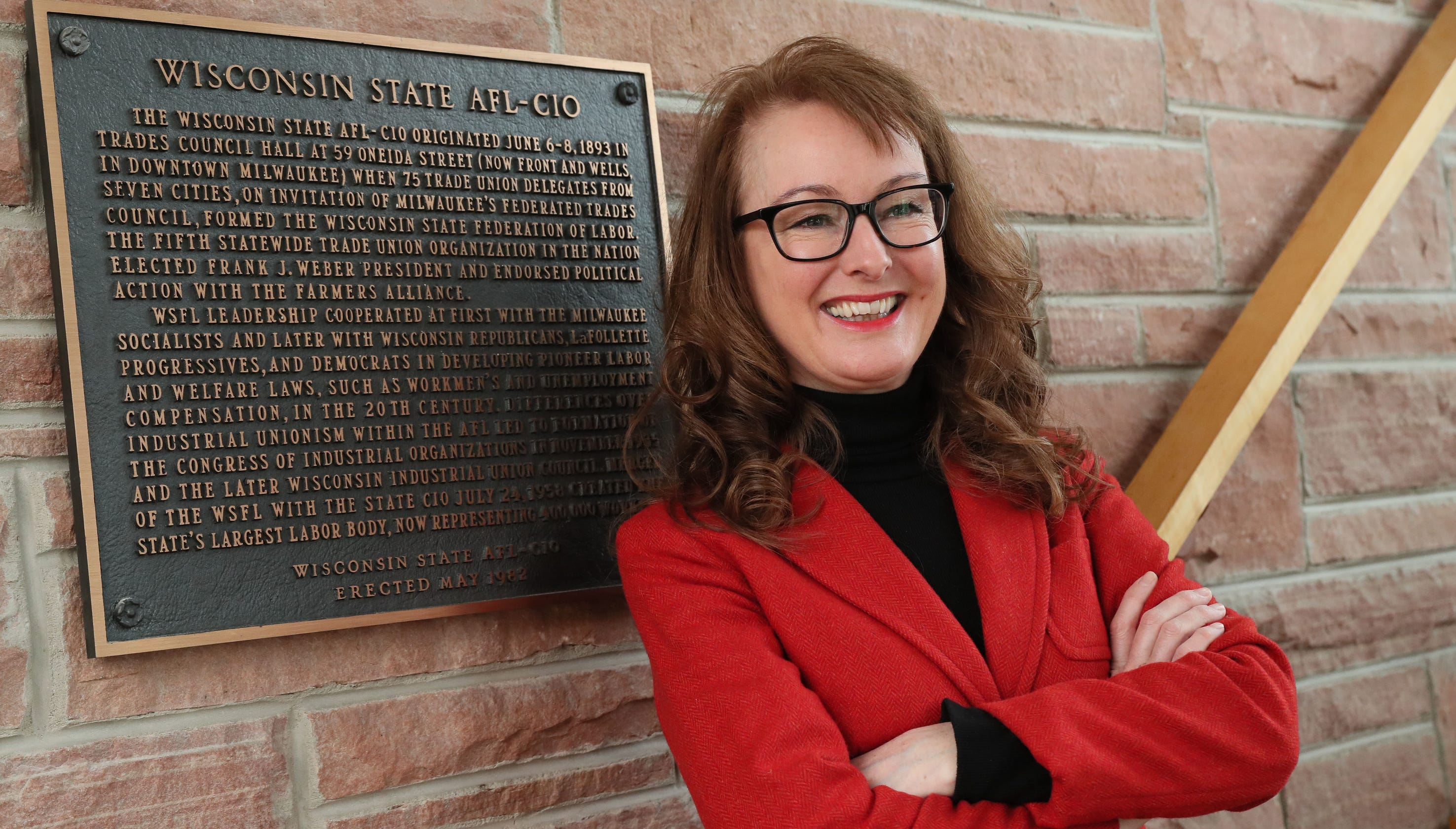 9d4c1069414 Stephanie Bloomingdale takes charge as first woman to head Wisconsin AFL-CIO