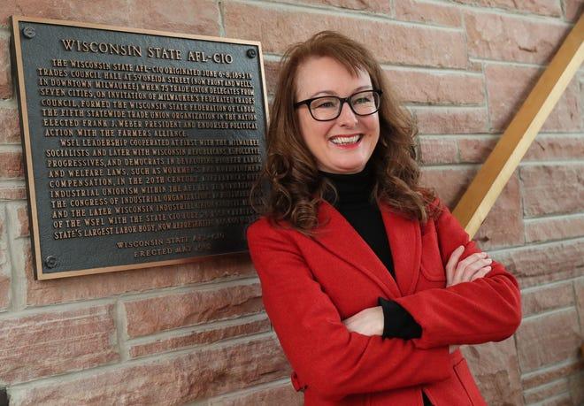 Stephanie Bloomingdale, president of the Wisconsin AFL-CIO.