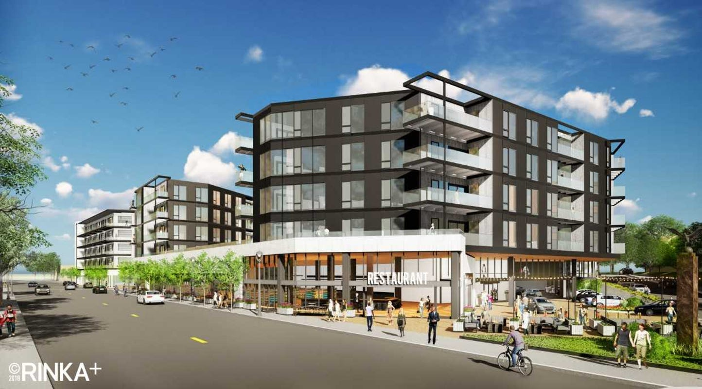 Plans filed for disputed 200-unit Bay View apartment development