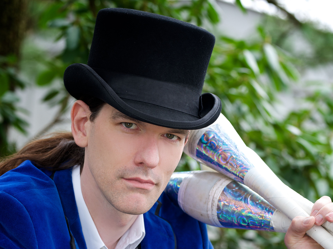 """David Darwin, a contortionist billed as """"the One-Man Sideshow,"""" is among the entertainers who will participate in the 27th annual First Night Morris.  The New Year's Eve celebration takes over venues throughout downtown Morristown on Monday, December 31, starting at 4:45 p.m."""