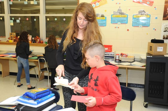 Whitney Dugan teaches fifth-grade social studies at Hardyston Middle School