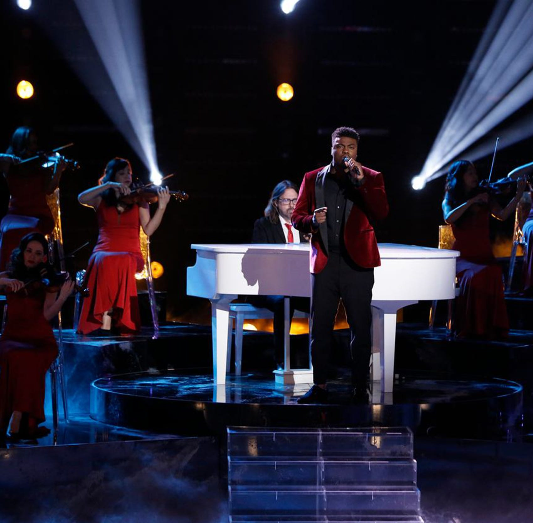 The Voice Finals: Montgomery's Kirk Jay takes third place Tuesday