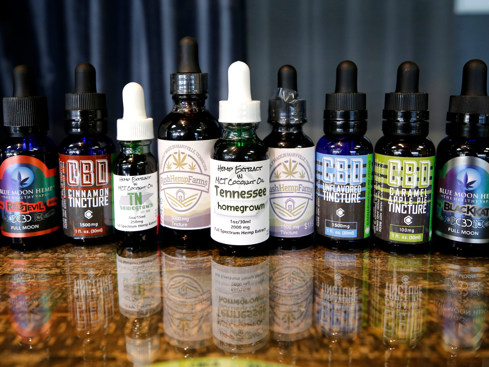 Frog Brigade Farmacy, in Murfreesboro carries a variety of CDB oils for vaping as well as pain.