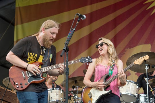 The Tedeschi Trucks Band.