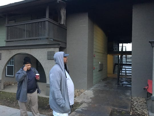 At least 4 apartment units were damaged after a fire broke out at the Views on the Cumberland apartment complex in West Nashville, Wednesday Dec. 19, 2018