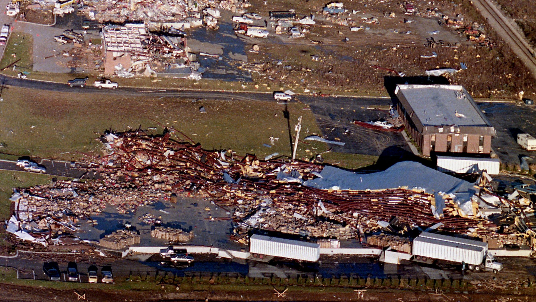 Nashville Then: Williamson County tornado on morning of ...
