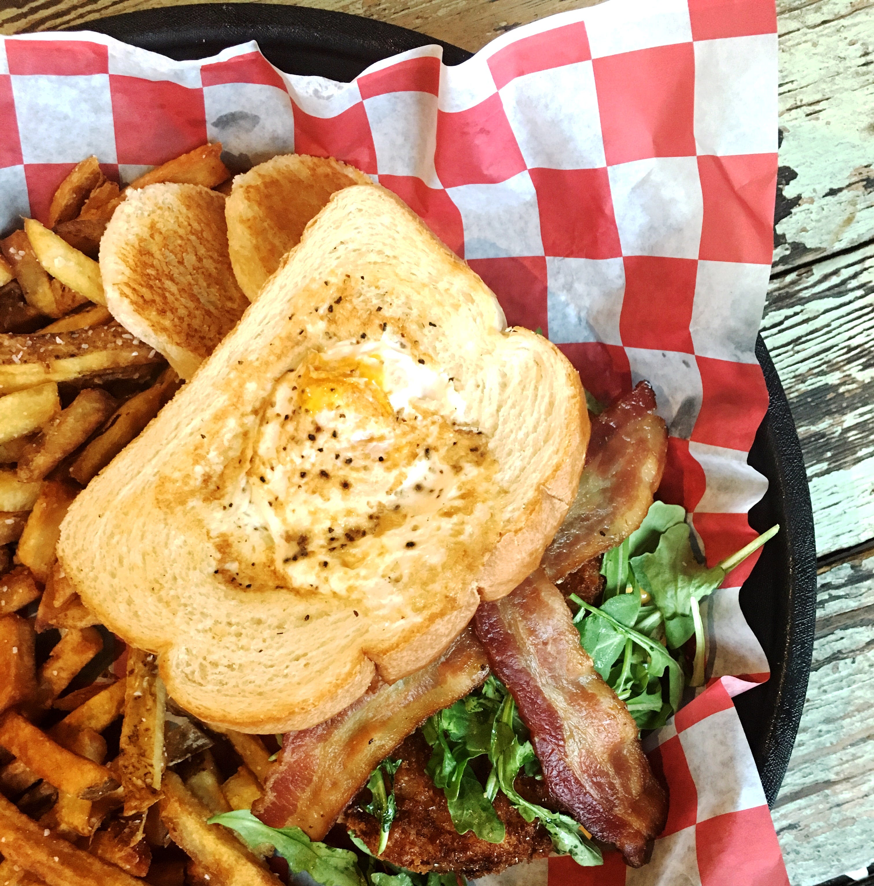 The  Gashouse BLT from Acme Feed & Seed.