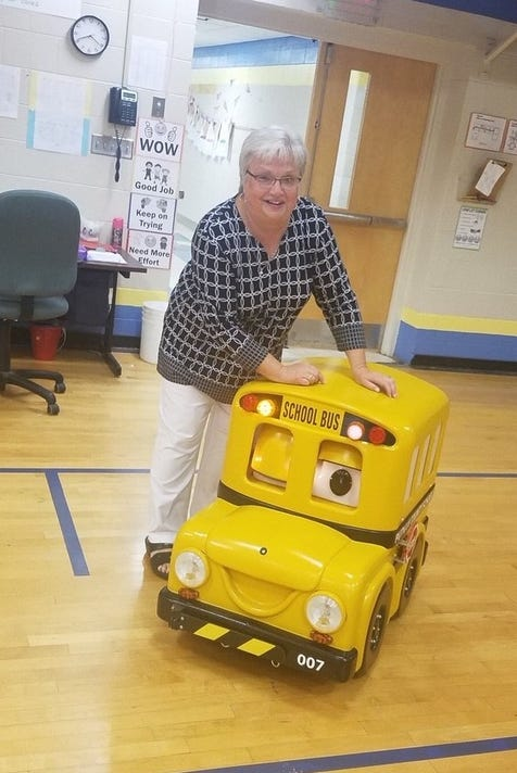 Buster The Bus Talks Travels To Teach School Vehicle Safety
