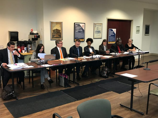 The Metro Board of Ethical Conduct met on Wednesday to consider the ethics complaint against former Nashville Mayor Megan Barry.