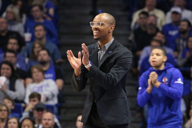 """Brian """"Penny"""" Collins will lead Tennessee State against Memphis and the Tigers' first-year coach, Anfernee """"Penny"""" Hardaway, on Saturday."""