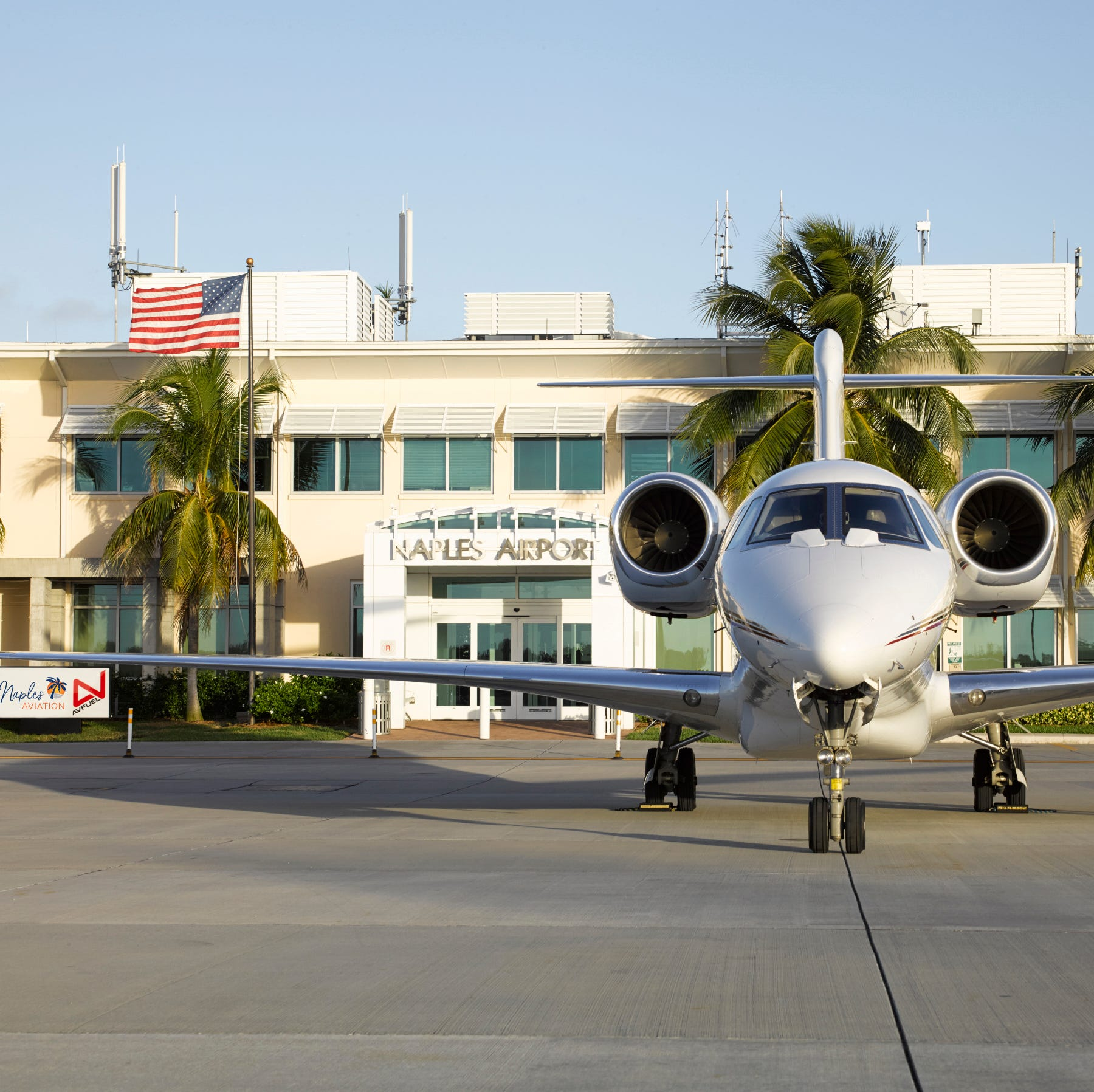 Naples Municipal Airport shortens its name, updates logo