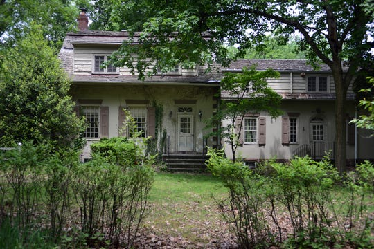 The historic Vanderbeck House in Fair Lawn, prior to construction.