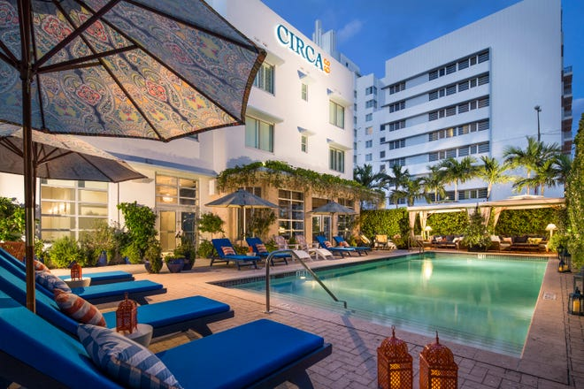 Pool at Circa 39 Hotel in Miami Beach.