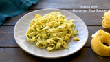 What's not to love?: Pasta, eggs, butter