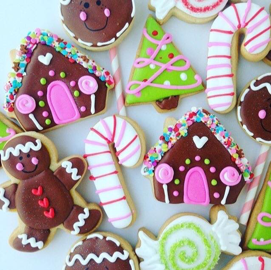 Sugarworks Cookies, owned by Myrna Chernick of Ringwood, N.J., creates custom cookies for clients in the New York Tri-State area.