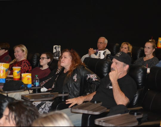 "Residents attend a private showing for ""The Mule"" at the Telshor 12 on Tuesday, Dec. 18, 2018. The screening was for residents who were involved in the production of the movie that was filmed for six days in Las Cruces in mid July."